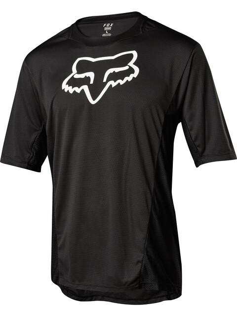 Fox Demo Camo Burn Short Sleeve Jersey Men black
